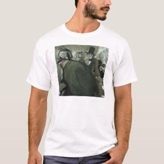 Nikolai Gogol著鼻のためのイラストレーション Tシャツ