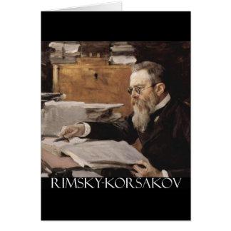 Nikolai Rimsky-Korsakov項目 カード