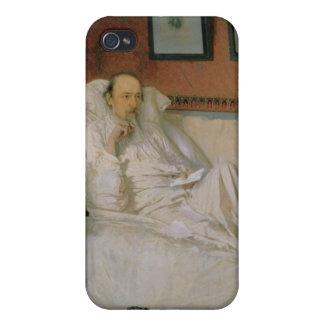 Nikolay Alekseyevich Nekrasov詩人 iPhone 4/4Sケース