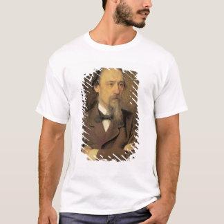 Nikolay Alekseyevich Nekrasov 1877年のポートレート Tシャツ
