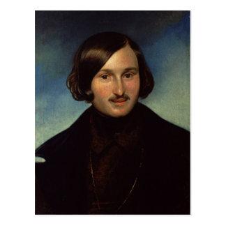 Nikolay Gogol 1841年のポートレート ポストカード