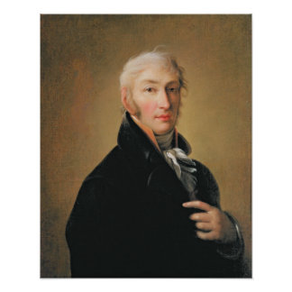 Nikolay Mikhaylovich Karamzin 1805年のポートレート ポスター