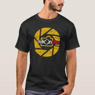 Nikonitesの開きの刃 Tシャツ