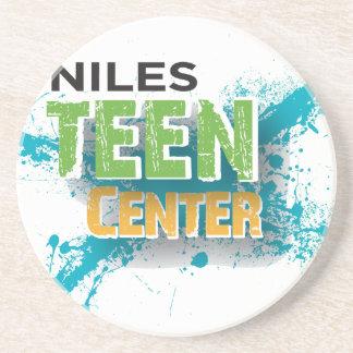 Nilesの10代のな中心のロゴ コースター