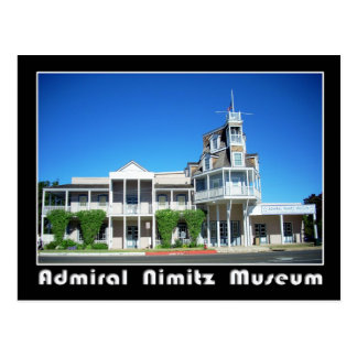 Nimitz Museum、Fredericksburg、テキサス州海軍大将 はがき