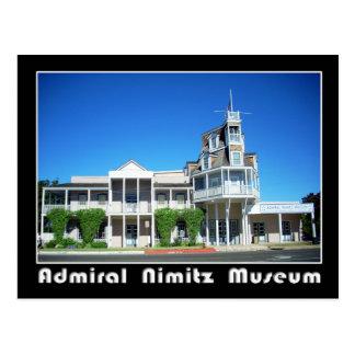 Nimitz Museum、Fredericksburg、テキサス州海軍大将 ポストカード