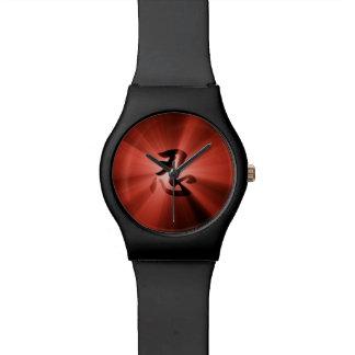 NINの漢字の赤い星の破烈のMay28thの腕時計 腕時計