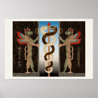 Ningishzidaの蛇 ポスター