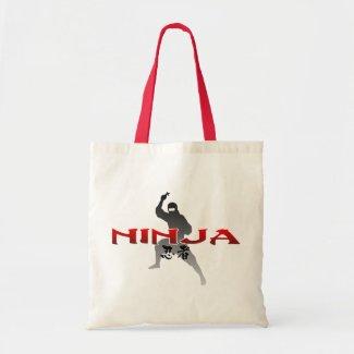 Ninjaのシルエット bag