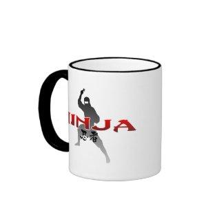 Ninjaのシルエット mug