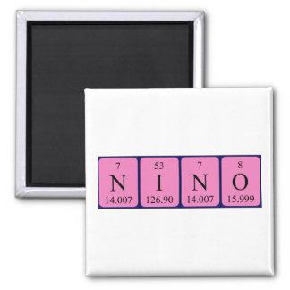 Ninoの周期表の名前の磁石 マグネット