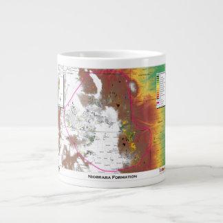 Niobraraの形成マグ ジャンボコーヒーマグカップ