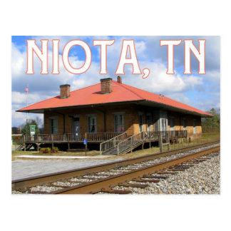 NiotaのTNの歴史的な1854駅 ポストカード