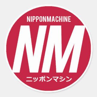 Nipponmachineのステッカー ラウンドシール