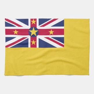 Niueの旗 キッチンタオル
