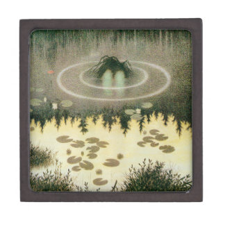 Nixie水精神のヴィンテージのアートワーク ギフトボックス