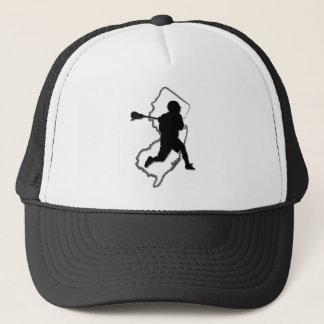 NJのラクロスのトラック運転手の帽子 キャップ