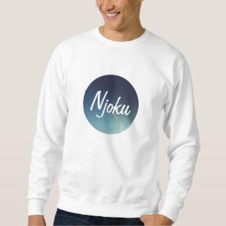Njokuの銀河系の「円」のロゴのスエットシャツ スウェットシャツ
