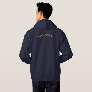 NJPunksは狼人間のフード付きスウェットシャツに衝撃を与えました パーカ