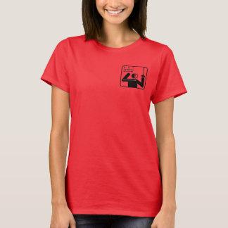 NKFAのオリジナルのTシャツ。 女性 Tシャツ
