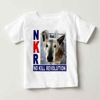 NKRの乳児のTシャツ ベビーTシャツ