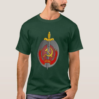 NKVDの紋章 Tシャツ