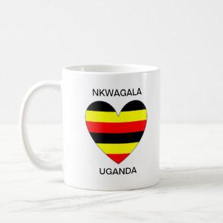 Nkwagalaウガンダのコップ コーヒーマグカップ