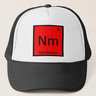 Nm -ニューメキシコの州化学周期表 キャップ