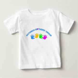 NMGのロゴは基本的なティーをからかいます ベビーTシャツ