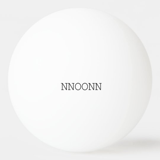 NNOONN SIMPLE LOGO ONE STAR PING PONG BALL 卓球ボール