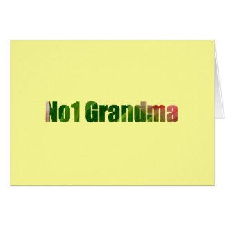 No1祖母 グリーティングカード