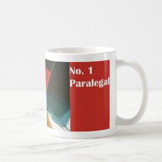 No.1パラリーガルの第1パラリーガルのマグ コーヒーマグカップ