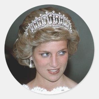 No.114プリンセスダイアナ米国1985年 ラウンドシール