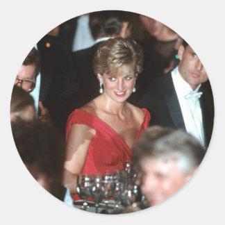 No.35プリンセスダイアナWashington D.C. 1990年 ラウンドシール