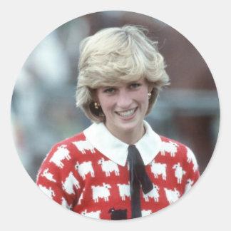 No.42プリンセスダイアナのポロ1983年 ラウンドシール