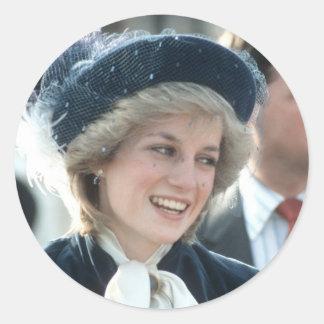 No.98プリンセスダイアナのWantage 1983年 ラウンドシール