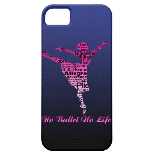 No Ballet No Life 2 iPhone 5 Cover