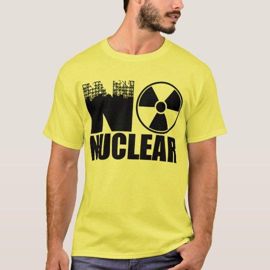 NO NUCLEAR MONO Tシャツ