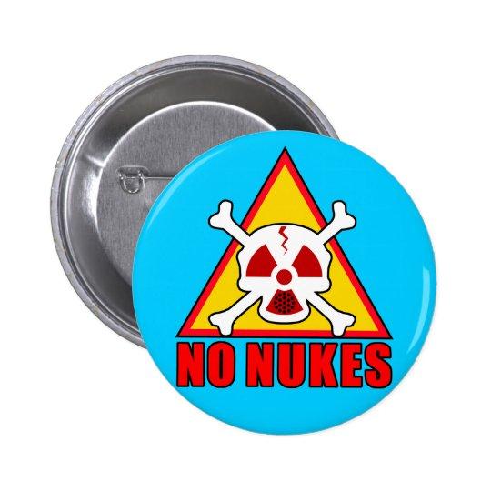 NO NUKES! 5.7CM 丸型バッジ