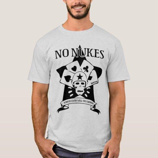 No Nukes Skull T-shirts Tシャツ