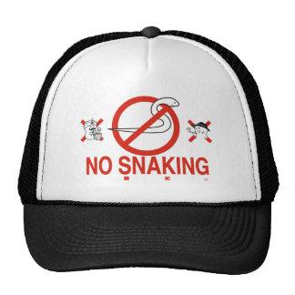 NO SNAKING メッシュ帽子