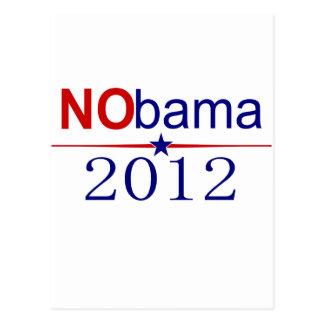 NObamaの2012年の選挙 ポストカード