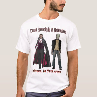 Nobamaハロウィン- Barackula及びBidensteinのTシャツ Tシャツ
