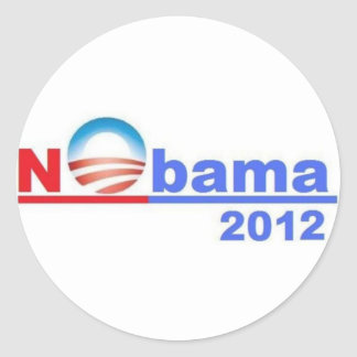 Nobama -オバマ無し2012年 ラウンドシール