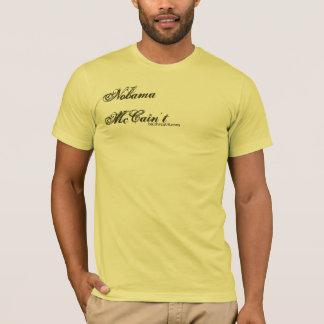Nobama   McCain't: カスタマイズ憲法- Tシャツ