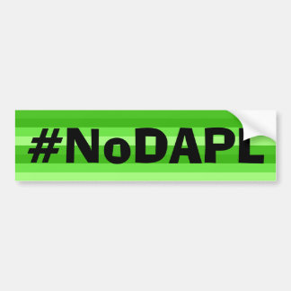NoDAPLのバンパーステッカー バンパーステッカー