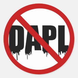 #NoDAPL ラウンドシール