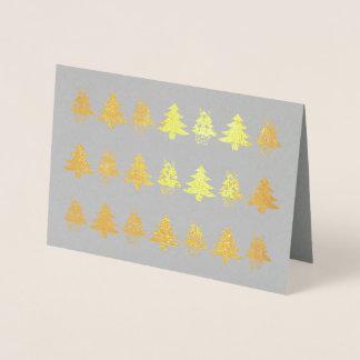 Noelのクリスマスのテーマ4Veronica 箔カード