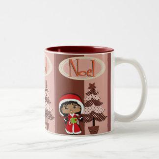 Noelの聖歌隊のマグ ツートーンマグカップ