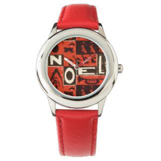Noelの赤 腕時計